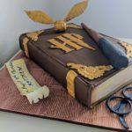 HP spellbook cake